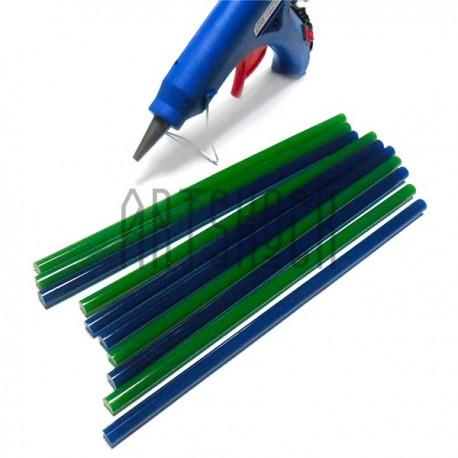 ТЕРМОКЛЕЙ • купить цветные стержни / клей для клеевого термопистолета Ø7 x 200 мм. в Украине