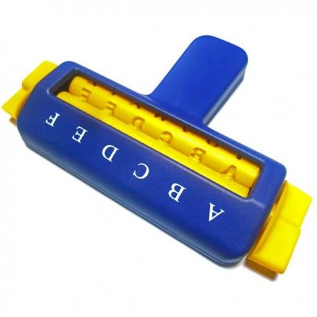 Кримпер (валик) для тиснения бумаги, буквы, Kamei