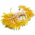 Тычинки для цветов (пестик) двусторонние, желтые, размер 10 мм., длина 6 см., REGINA