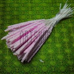Набор декоративных стеблей, розовые, 13 - 15 см., 100 штук, REGINA
