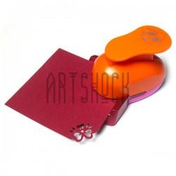 """Угловой штамп (компостер) """"Бант"""" для скрапбукинга, эмбоссинга и кардмейкинга, 2.5 см., Kamei"""