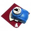 Фигурный дырокол (компостер) угловой, номер 3, 2.5 см., Kamei