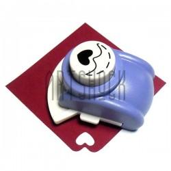 Фигурный дырокол (компостер) угловой, номер 4, 2.5 см., Kamei