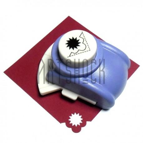 Фигурный дырокол (компостер) угловой, номер 5, 2.5 см., Kamei