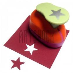 Дырокол фигурный (компостер), звезда полная, 2.5 см., Kamei
