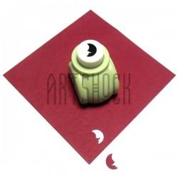 "Дырокол фигурный (компостер), месяц, 1 см. (3.8""), Kamei"