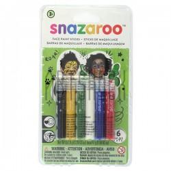 Набор красок для лица и тела, 6 цветов, SNAZAROO