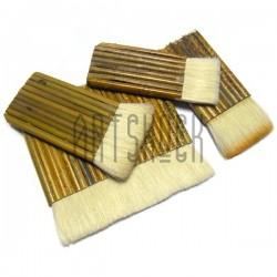 Традиционная китайская бамбуковая кисть для оформления работ из волоса козы №2