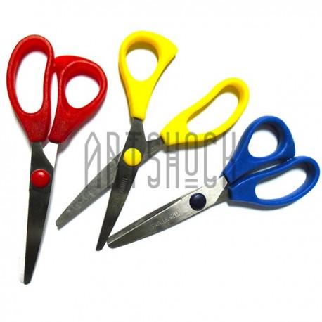 Детские ножницы для бумаги и творчества - купить безопасные ножницы для детей в интернет магазине