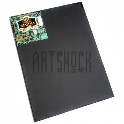 Холст на подрамнике мелкозернистый, грунтованный черным грунтом, р-р: 30x40 см., хлопок, REGINA