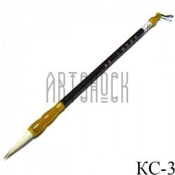 """Кисть для китайской каллиграфии и живописи с двойным ворсом, """"Лунный свет"""", 27.5 см."""