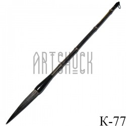 """Кисть для китайской каллиграфии и живописи с бамбуковой ручкой, """"Черная орхидея"""", 44.5 см."""
