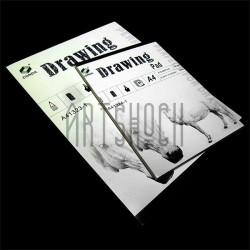 Папка - альбом для эскизов Drawing Pad А4, 210 х 297 мм., CONDA