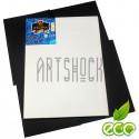 Холст хлопок на подрамнике мелкозернистый, грунтованный, р-р: 30x50 см., REGINA
