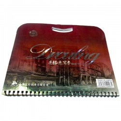 Альбом для эскизов и зарисовок Drculng SKETCH BOOK А3, 260 х 375 мм., Maries
