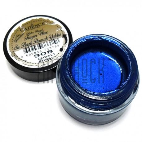 Воск для золочения Finger Wax, Cobalt / Кобальт, 20 мл., CADENCE арт.: 908