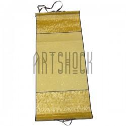 Свиток шелковый для китайской каллиграфии и живописи, золотой шёлк с рисовой бумагой купить в Украине