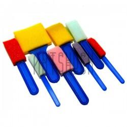 Набор поролоновых кистей - губок (спонжей), 8 штук, CONDA