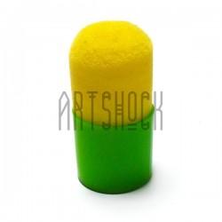 Кисть - губка трафаретная, поролоновая, в пластике, 35 мм., REGINA