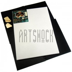 Холст грунтованый на подрамнике, р-р: 60x80 см., лён, 350 гр/м2