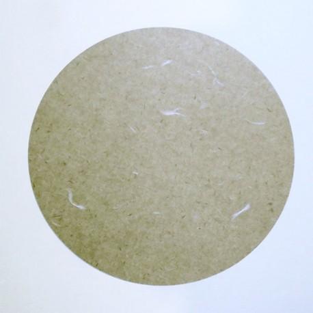 Рисовая бумага с крупными волокнами в паспарту из бумаги на плотном картоне, 33 х 32.7 см. для китайской живописи