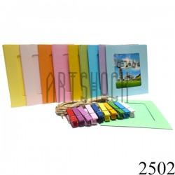 """Набор фоторамок на бечевке (бумажные рамки для фото с прищепками), """"Квадраты цветные"""", 10 штук"""