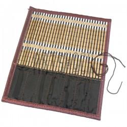 Пенал - коврик для кистей бамбуковый, 26.5 x 30 см., REGINA, арт.: 31537 купить в Киеве и Украине