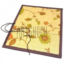 Пенал - коврик для кистей бамбуковый с рисунком, размер 32 x 36.5 см., REGINA, арт.: 32365 купить в Киеве и Украине