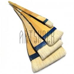 Кисть флейцевая для китайской каллиграфии и живописи из шерсти козы №3.5