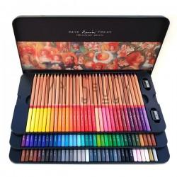 Набор профессиональных цветных карандашей, 100 шт., в металлическом пенале, Marco Renoir купить в Киеве и Украине