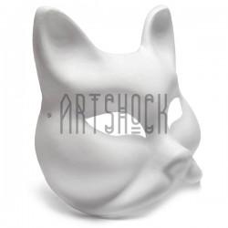 """Венецианская карнавальная маска """"Gatto"""", с резинкой, 18.5 см. x 18.5 см."""