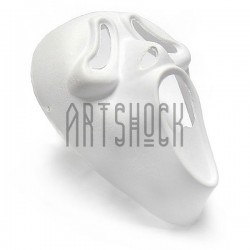 "Заготовка маски на Хэллоуин ""Scream"", с резинкой, 18.5 см. х 25.5 см."