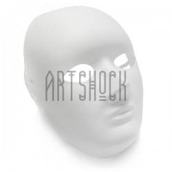 """Венецианская карнавальная маска """"Sior Maschera"""", с резинкой, 18.5 см. x 24.5 см."""