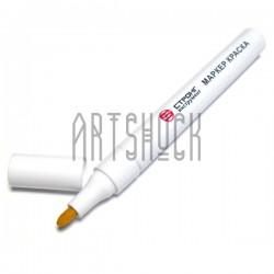 Масляный маркер - краска, white, 3 мм., Стронг Инструмент