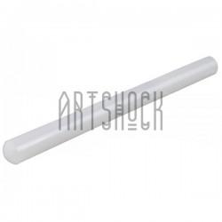 Скалка пластиковая (акриловый ролик) для полимерной глины и мастики, Ø3 см., длина 31.5 см., Fondant