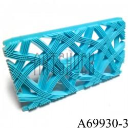 """Печать текстурная для теста и мастики """"Кривые линии"""", 8.2 х 15 x 0.8 см., Galette"""