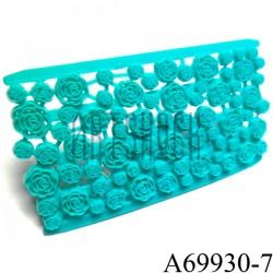"""Печать текстурная для теста и мастики """"Розы"""", 8.5 х 15.5 x 0.8 см., Galette"""
