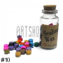 Сургуч декоративный микс для печатей в таблетках, 60 - 70 штук | Купить сургуч в таблетках в Киеве и Украине