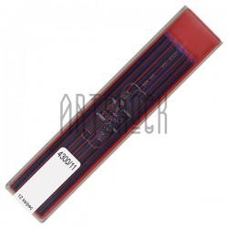 Синие грифели (стержни) для цангового карандаша, Ø2 мм., COLORAMA, Koh-I-Noor