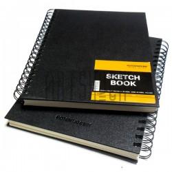 Блокнот для зарисовок (набросков) на спирали, Sketchbook A4, 60 листов, 190 х 260 мм., POTENTATE | Скетчбуки для рисования