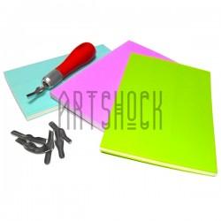 Резиновый коврик для вырезания штампов, 15 x 10 x 0.8 см.