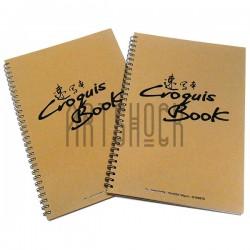 Блокнот - альбом (скетчбук) на спирали для эскизов Croquis Book, 265 x 380 мм.