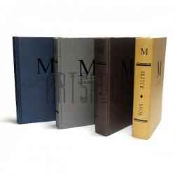 """Блокнот - книга для зарисовок (набросков), 160 листов, 130 x 205 мм., """"M SKETCHBOOK"""""""