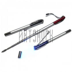Ручка шариковая 7 в 1 ✔ LED фонарик ✔ УФ фонарик ✔ Лазерная указка ✔ Магнит ✔ Телескопическая указка ✔ Двухсторонняя отвертка