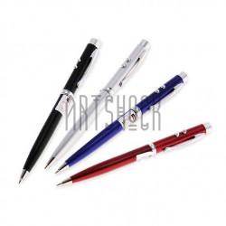 Ручка шариковая многофункциональная 3 в 1 ✔ LED фонарик ✔ Лазерная указка ✔ купить в Киеве и Украине