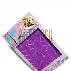 Уголки на клеевой основе для скрапбукинга Photo Corners, цвет фиолетовый, 102 штуки