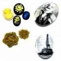 Наборы декоративного FIMO (цветы, камея и кабошоны)